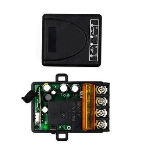Image 5 - Rubrum 433Mhz اللاسلكية التحكم عن بعد التبديل التيار المتناوب 220 فولت 1CH 30A RF التتابع وحدة الاستقبال و 2 زر التحكم عن بعد لمضخة المياه