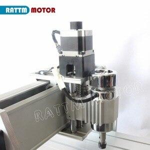 Image 5 - RU เรือเดสก์ท็อป 3 แกน CNC 3040Z DQ 300W แกน Ballscrew CNC ROUTER แกะสลัก/แกะสลักเครื่องกัดเจาะ 220 v/110 V