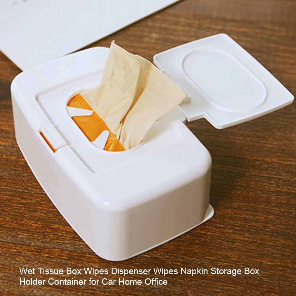 BD/_Wet Tissue Paper Case Care Baby Wipes Napkin Storage Box Holder Container