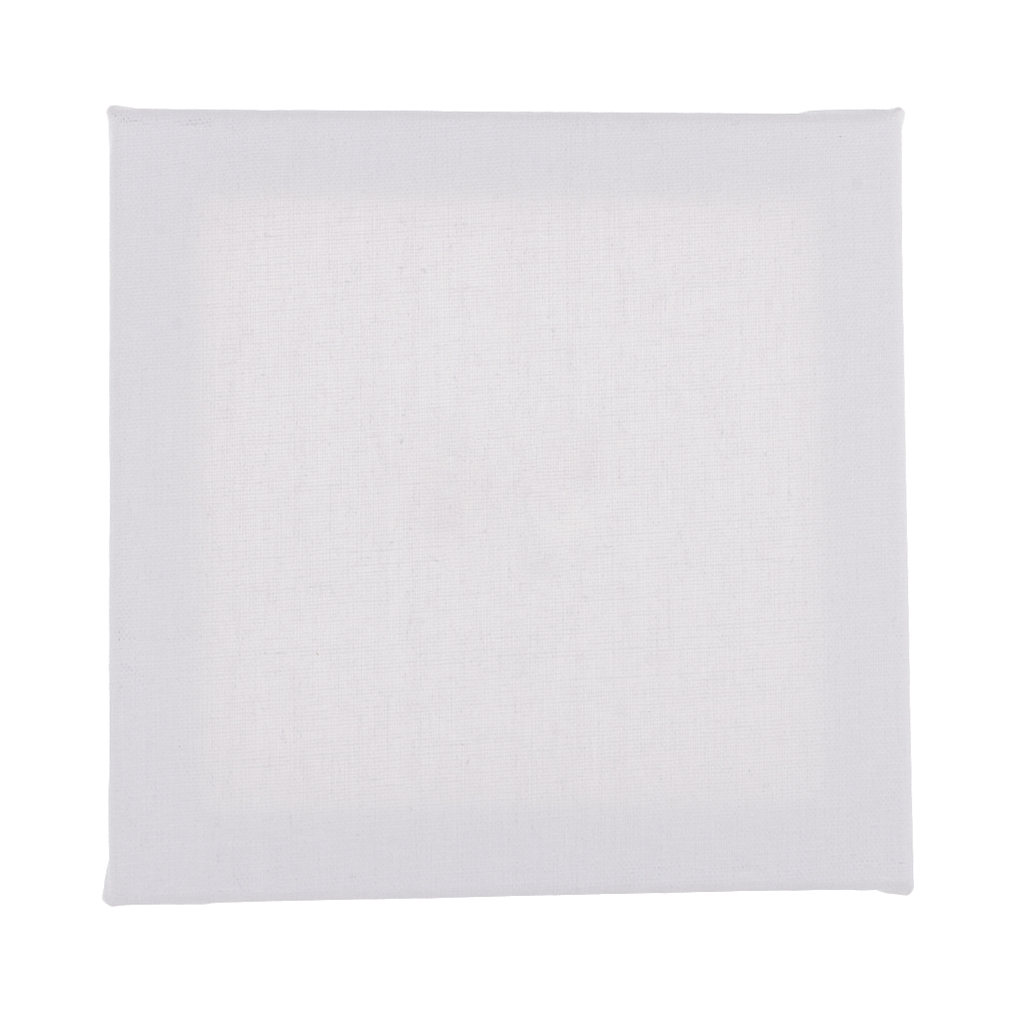 Plain White Square Blank Stretchy Canvas Board Wooden Frame For Artist Oil Painting Acrylic Painting Sewing Tools Accessory Aliexpress