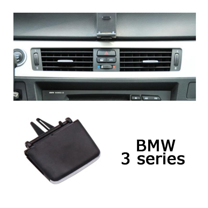 Рычаг вентиляционного отверстия для вентиляционного отверстия, зажим для карты, ручка плектра направления ветра для BMW 3 серии E90 E91 E92 E93