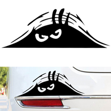 цена на Car Styling Car Sticker Dune Sand Monster Peeping Peering Auto Decal for Toyota Peugeot Fiesta Opel Chevrolet Kia Ford Lada