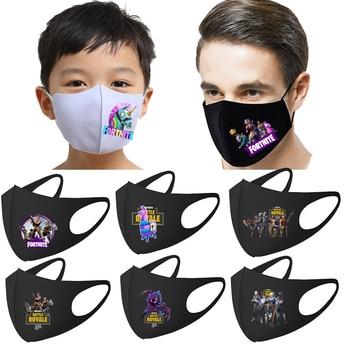 Fortnites kid adult Mouth Mask Face Mouth  Anti Dust royale battle boys Man Masks Reusable Washable Dust-proof Alpaca face Mask 1