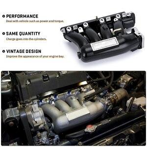 Image 5 - VR Aluminium Intake Manifold Für 06 11 Honda Civic 04 08 Acura TSX K20Z3 Silber Schwarz VR IM52