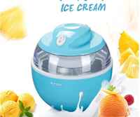 220 v 가정용 아이스크림 메이커 아이스크림 기계 휴대용 아이스 메이커 사용 가능 쉬운 조작