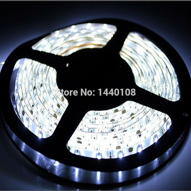 Fanlive 50m/lot SMD 5630 <font><b>LED</b></font> Strip Light 60 <font><b>Leds</b></font> 18W <font><b>24V</b></font> 12V DC IP65 Waterproof Flexible <font><b>LED</b></font> <font><b>Stripe</b></font> Light For Outdor Lighting image
