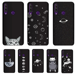 На Алиэкспресс купить чехол для смартфона pensen soft tpu cover for huawei y6p case matte painting phone cases cat coque