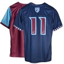 Специальный комплект, вышивка West Ham x IMFC, высококачественные трикотажные изделия, рубашка с вашим ботинком на стиве Харрис, молотки