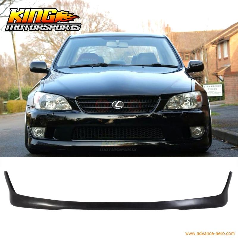Fit For 2001 2002 2003 2004 2005 Lexus Is300 Altezza Sxe10 Tr Style Front Bumper Lip Spoiler