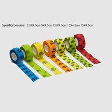 Цветная самоклеящаяся эластичная лента спортивная из эластопласта