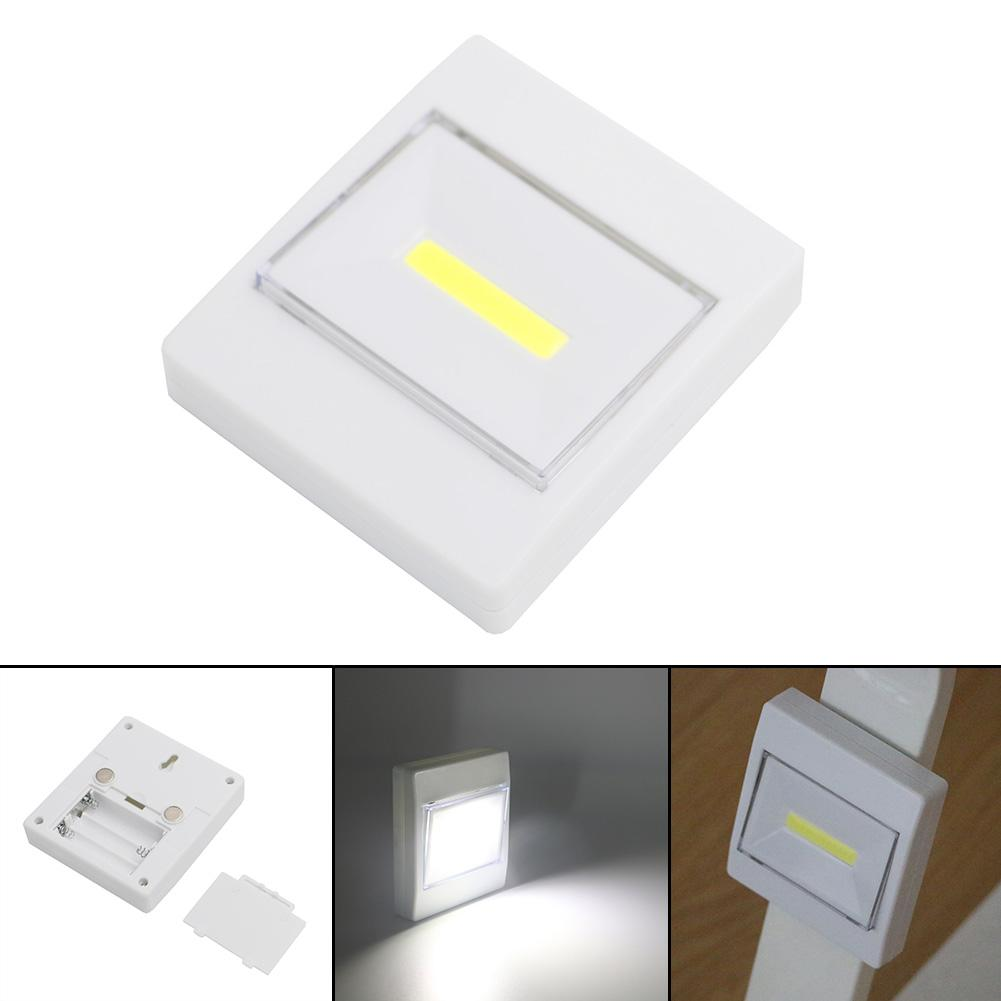 Wireless Closet Cob Led Wall Switch Night Light Cordless Battery Operated Lamp Outdoor Lighting Repair Emergency Light Indoor Led Indoor Wall Lamps Aliexpress