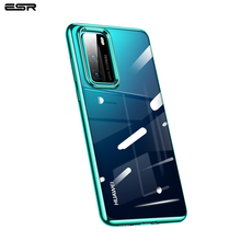 ESR Phone Case for 2020 Huawei P40/P40 Pro P30/Mate 30 Pro Honor V30/V30 Pro Soft TPU Plating Frame Bumper Case hit color frosted case for huawei p40 pro mate30 mate 30 pro p30 pro luxury shockproof case for honor v30 pro soft silicone new