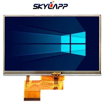 Original 5 inch 1402-980 LCD Screen for GARMIN Satnav 4nsf LCD Screen display panel with Touch screen digitizer Free shipping