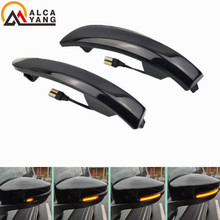 For Ford Kuga Escape C520 EcoSport 2013-2018 Dynamic Turn Signal Light LED Side Wing Rearview Mirror Sequential Indicator Lamp 1pc lh without bulbs front grille fog lamp for ford kuga escape 2013