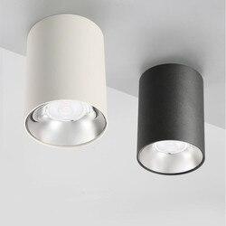 10 sztuk wysokiej jasności cree led Cob lokalna lampa korzeniowa 7W 10W 15W 20W długi montaż powierzchniowy Downlight na oświetlenie kuchenne wnętrze pokoju
