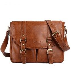 Vormor marca de couro dos homens saco ocasional negócios couro dos homens mensageiro saco crossbody bolsa masculina da forma