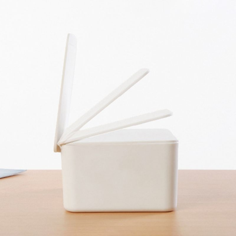 Wet Wipes Dispenser Holder Tissue Storage Box Case With Lid  For Home Stores P31B