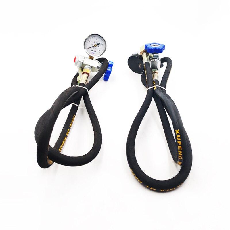 Nitrogen Accumulator Charging Tool CQJ Multifunctional Inflatable Tool CQJ-16 25 40