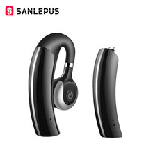SANLEPUS Wireless Bluetooth Headset Bluetooth Earphone Business Headphones with Mic Handsfree for Driving Car for iPhone Samsung(China)