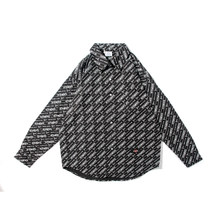 2021 logotipo completo vetements camisa das mulheres dos homens de alta qualidade streetwear vetements camisa tecido vtm camisa