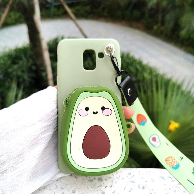 Zipper Wallet Cartoon Phone Case For Samsung Galaxy S20 Plus A7 A8 Plus A9 2018 Note 10 8 9 S7 S8 S9 S10 5G S10E J4 J6 A6 Cover