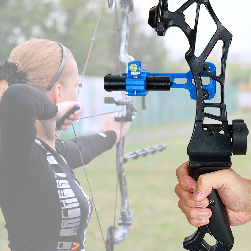 New Plastic Tuning Bow Sight Recurve Bow And Arrow Calibrator Auxiliary Shooting Accessories
