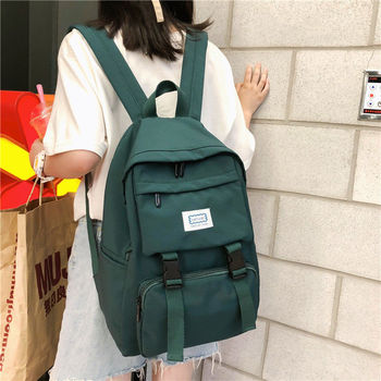 Campus Middle High Teenage School Bags for Girls Backpack Female Student Lightweight Oxford teen Schoolbag Women Bookbags 2020 campus middle high teenage school bags for girls backpack female student lightweight oxford teen schoolbag women bookbags