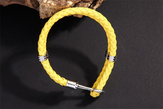 Bracelet Corde Ancre Homme