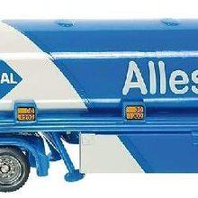Gummi Aus Kinder Tanksattelzug Spielzeugauto Bereifung Blau/wei Fr Metall/kunststoff