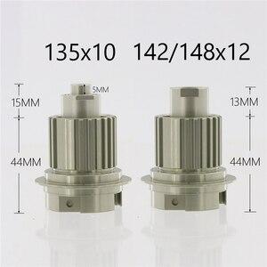 Image 2 - Micro Spline 12 s Hub Körper M9100 12 Geschwindigkeit Kassette Fahrer ITS4 für Crossmax MAVIC Deemax HUB mit 135/142/148 konverter