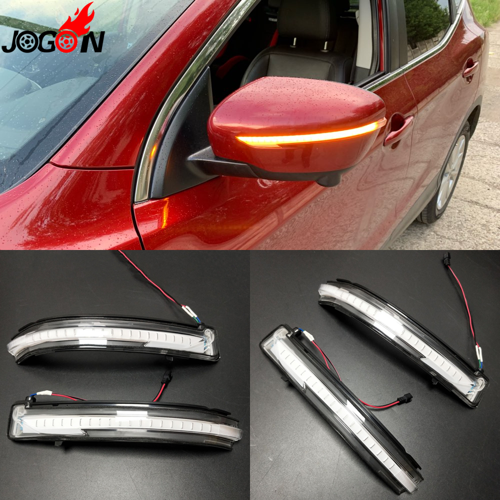 <font><b>LED</b></font> Light Dynamic Turn Signal Mirror Blinker Indicator For <font><b>Nissan</b></font> <font><b>X</b></font>-<font><b>Trail</b></font> <font><b>T32</b></font> 14-18 Qashqai J11 14-18 Murano Z52 Pathfinder R52 image