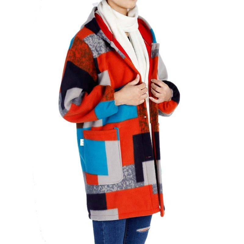 Korean style Style Kitchen Apron Middle aged Large Size Overclothes Adult Female Winter Brushed And Thick Mom Coat|Oversleeves| |  - title=