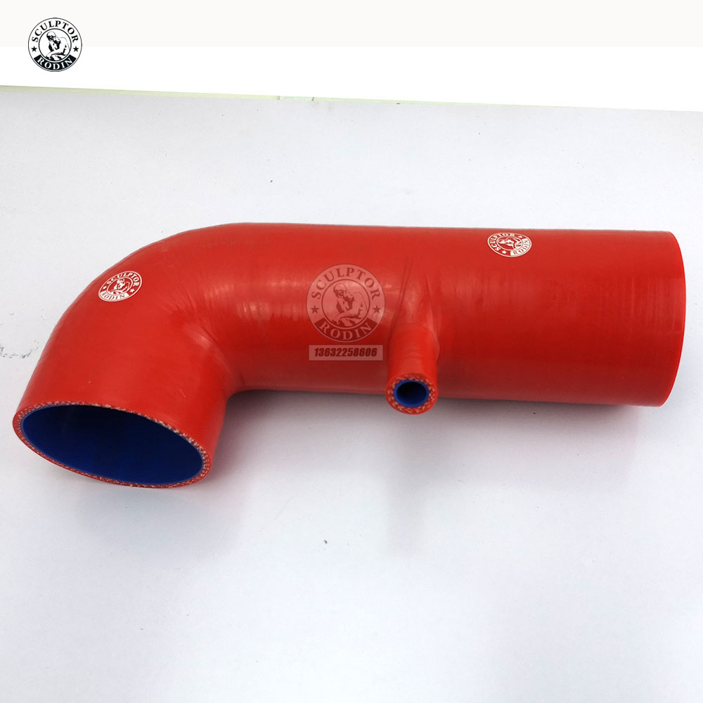 "RED 3/""-3.25/"" AIR INTAKE//PIPING RUBBER REDUCER COUPLER FOR SUBARU//SCION"