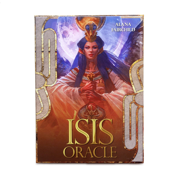 Isis Oracle cards 44 cards, 100% Original guidance English mysterious fortune tarot cards game for girls