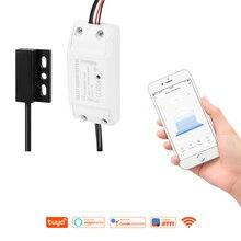 IFTTT Alexa Google Home Tuya Smart Remote Timing WiFi Garage Door Opener Control Life APP