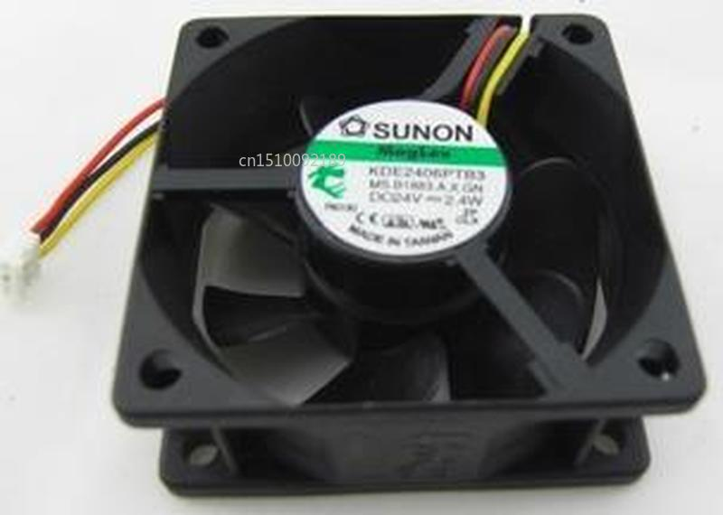 For KDE2406PTB3 MS.B1883.A.X.GN DC 24V 2.4W 60x60x25mm Server Cooler Fan Free Shipping