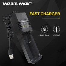 VOXLINK 18650 batterie ladegerät USB2.0Plug Intelligente lade 26650 18350 14500 26500 22650 21700 Li-Ion Akku ladegerät