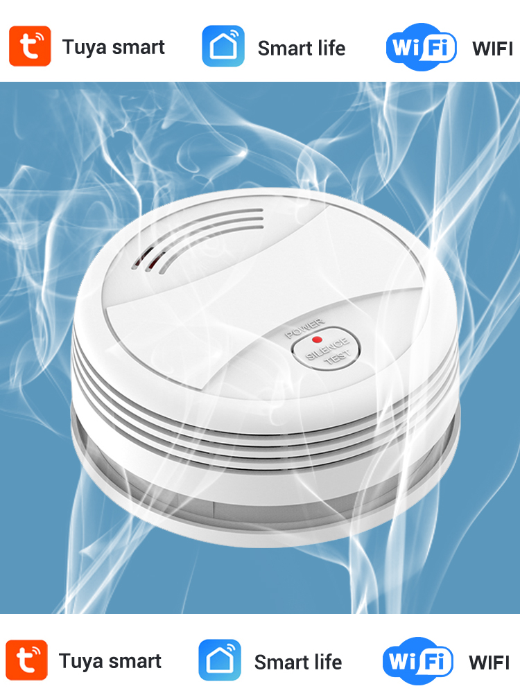 Sensor Fire-Alarm Smoke-Detector Firefighters Fire-Protection Independent Home-Security-System