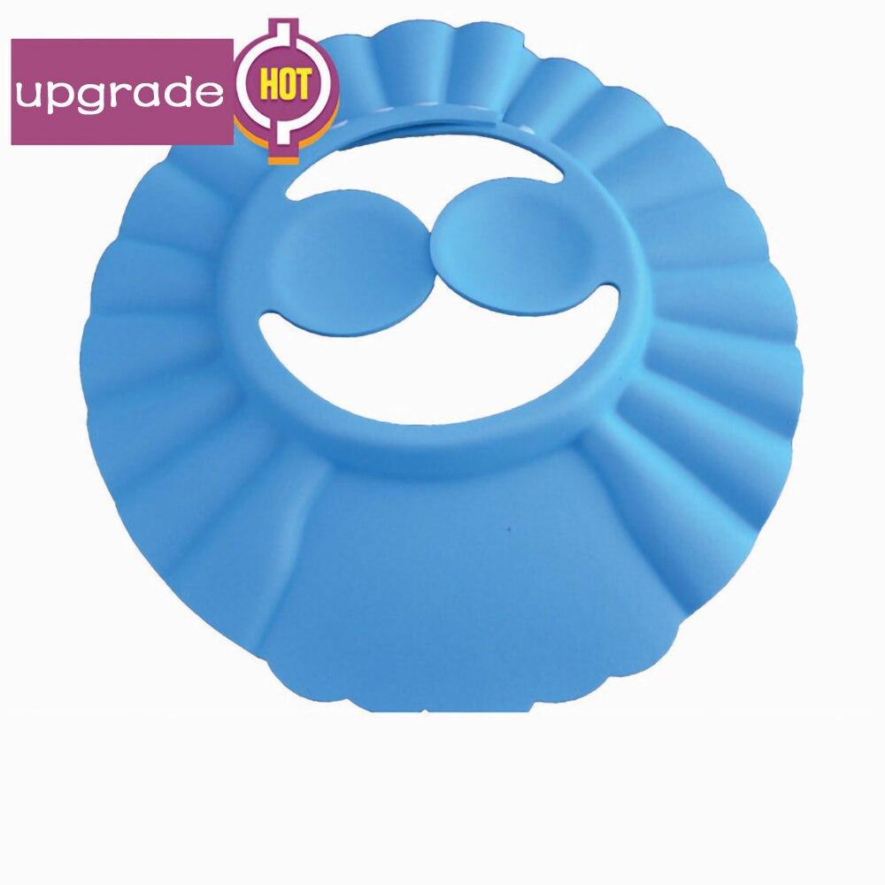 Toddler Kids Shampoo EVA Bath Shower Cap Wash Hair Shield Direct Visor Baby Hat Caps for Children Baby Care