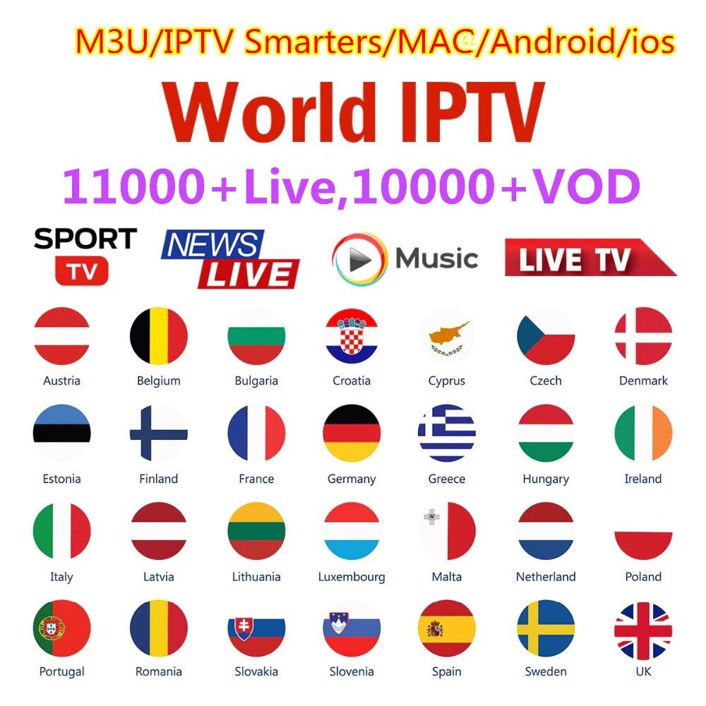 4K Iptv France Smart World Iptv Subscripton M3U List Germany Arabic Poland Greek Iptv Spain Portugal Belgium French Ip Tv Turkey