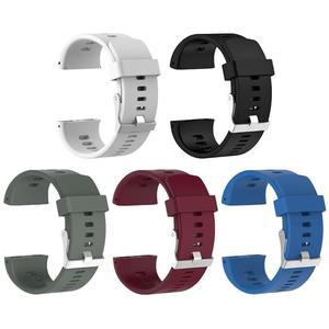 Image 2 - Siliconen Vervanging Polshorloge Band Voor Polar V800 Smart Armband Met Tool Smart Horloge Band Accessoires Voor Mannen Vrouwen 18.5cm