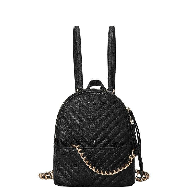 2020 Women Letter Shoulder Bag INS Popular Female Backpack Holiday PU Bags For Lady Design Exquisite Crossbody Bucket Bag