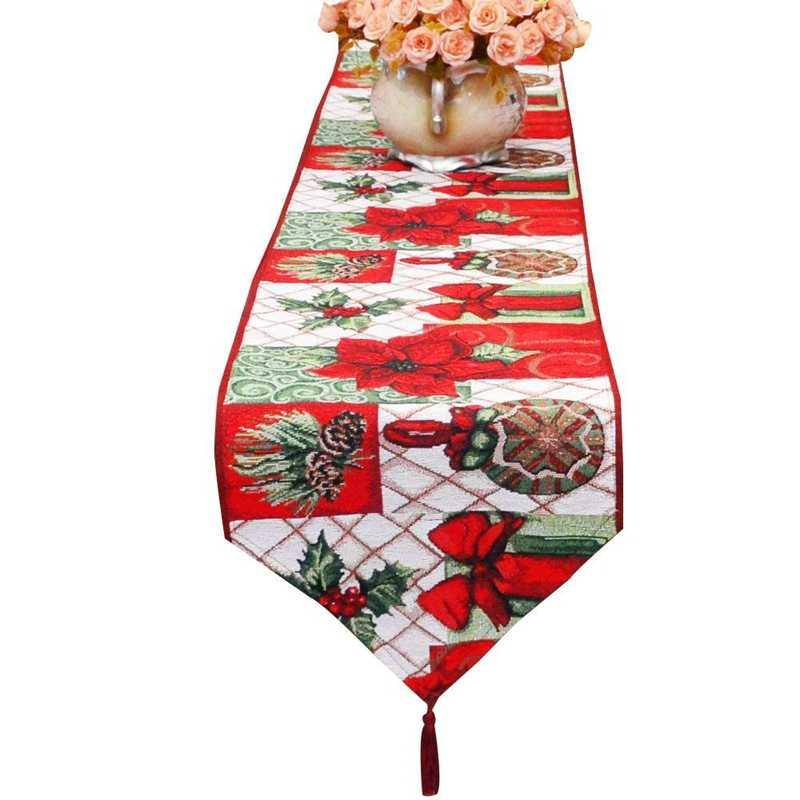 Christmas Table Runner Decorations Dining Table Runner
