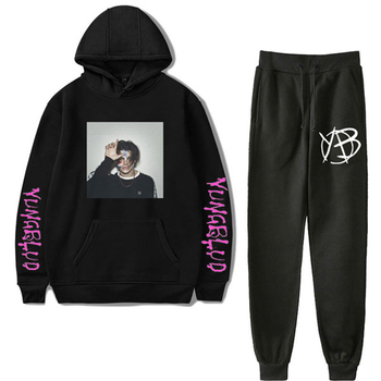 Yungblud Hoodie Trousers 2pcs Set Unisex Sweatpants Outfit W Hoodies Sweatshirt Sets Mens Hooded Tracksuits 2020