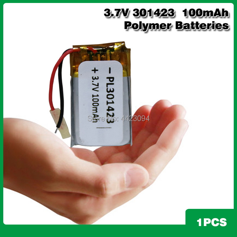 Liter energy <font><b>battery</b></font> 301420 <font><b>3.7V</b></font> <font><b>100MAH</b></font> 031420 301423 <font><b>lithium</b></font> <font><b>battery</b></font> MP3 Bluetooth headset small toys <font><b>battery</b></font> image