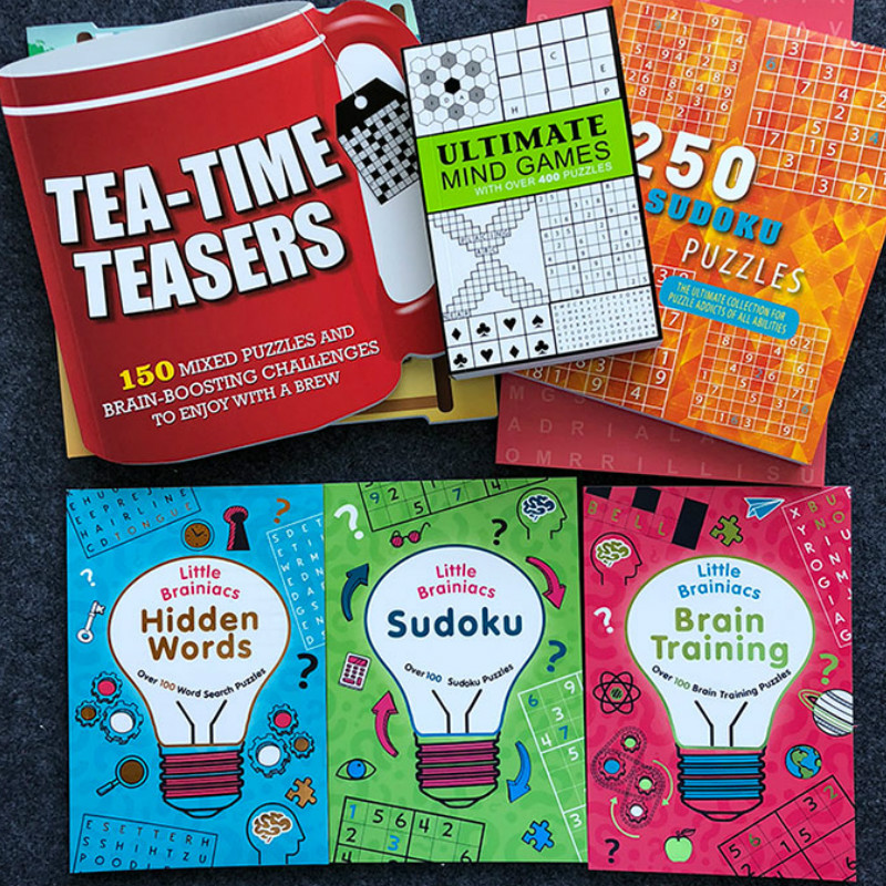 An Interesting Puzzle Book Sudoku Thinking Game Book Children Play Smart Brain Number Books Kid New Year Gift Toys & Hobbies