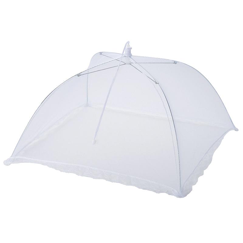 Pliable Food Cover Parapluie Picnic Barbecue party Fly Mosquito Mesh Net tente