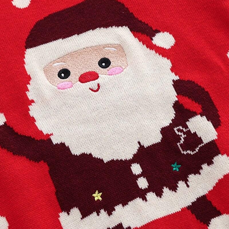 Christmas Baby Boys Girls Long Sleeve Cartoon Sweaters Autumn Winter Kids Cartoon Pullover Coat Baby Boys Girls Sweaters 5