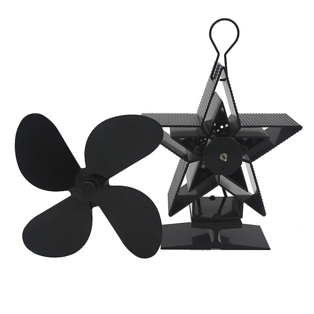 Premium Fireplace Thermodynamic Fan Alumina Fan Blade Ultra Quiet Warm Fireplace Fan Thermal Power Fan