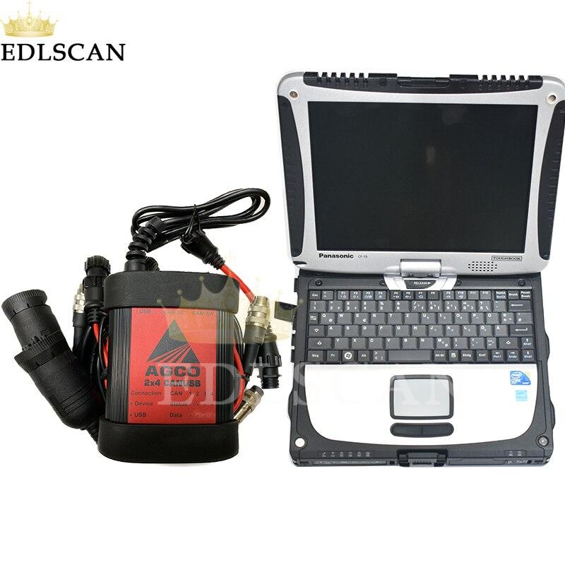 Für Massey Ferguson Fendt AGCO Bauernhof Traktor Diagnose Werkzeug für AGCO Elektronische Diagnose Werkzeug AGCO EDT CANUSB Interface
